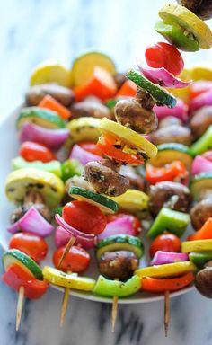 Vegetable Kabobs Recipe