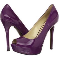 Enzo Angiolini Tanen purple patent