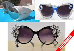 sunglasses DIY tutorials