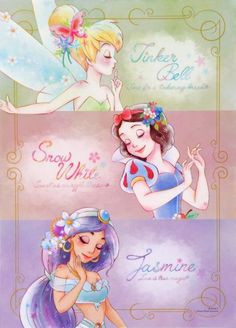 The Art of Pegasus | Tinkerbell | Snow White | Jasmine | @Dgiiirls