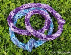 Fiber Flux...Adventures in Stitching: Yarny Projects for Kids!