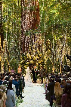 Sean Parker's Fairy Wedding at Big Sur Redwood Forest Wedding, Enchanted Forest Wedding, Woodland Wedding, Whimsical Wedding, Woodland Fairy, Big Sur Wedding, Dream Wedding, Trendy Wedding, Wedding Music