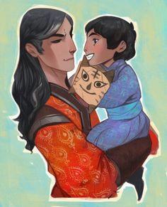Batu and Sartak by phobs #family #mongols #phobs