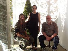 Anna di TwinFood con Marco Natale e Simone Lucchesi di Castèstyle al Fuorisalone