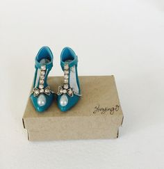 Handmade mini collectable shoes