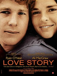 Love Story (USA 1970) French release poster.
