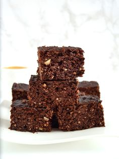 These are the fudgiest homemade brownies that you'll ever have and you'd never know that they were dairy free. The best part: no mixer required and made in just 1 bowl! Homemade Brownies, Fudgy Brownies, Coffee Brownies, Chocolate Brownies, 9x13 Baking Pan, Baking Flour, Dairy Free Brownies, Brownie Ingredients, Best Sweets