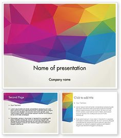 http://www.poweredtemplate.com/12283/0/index.html Colorful Triangle Mesh PowerPoint Template