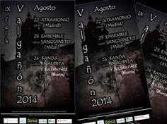 El IX #Festival Valgañón #Folk se celebrará durante los días 22, 23 y 24 de agosto