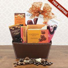Goa Chocolate Bliss Gift Basket-Capalbos Gift Baskets & 14 Best Easter Gift Baskets 2018 images | Easter gift baskets Fruit ...