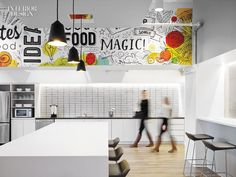 Equator Design, a rapidly growing global packaging design and branding agency, recently created their dream creative workspace in Chicago. Cool Office Desk, Creative Office Space, Office Space Design, Workspace Design, Design Offices, Office Spaces, Office Desks, Work Spaces, Corporate Interiors
