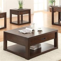 Riata Square Coffee Table I Riverside Furniture