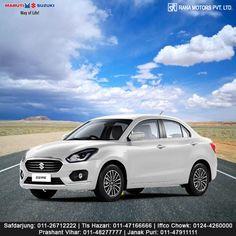 Maruti Suzuki Dzire - A Whole New Aspect of Technology. http://www.ranamotors.co.in/maruti-suzuki-dzire-en-in.htm  Contact Numbers:- Safdarjung: 011-26712222 Prashant Vihar: 011-48277777 Iffco Chowk: 0124-4260000 Tis Hazari: 011-47166666 Janak Puri: 011-47911111  #MarutiSuzuki #Dzire #Car #RanaMotors #NewDelhi #Gurgaon