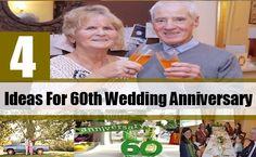 4 Ideas For A 60th Wedding Anniversary Present