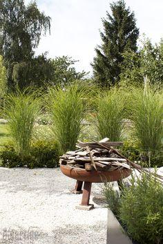 Gräserreigen - dieartige // DESIGN STUDIO // Raumplanung Interior Garden, Interior Design Studio, Stepping Stones, Bungalow, Garden Design, Exterior, Outdoor Decor, Plants, Home Decor
