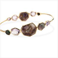 "Bracelets -                                                                        IPPOLITA ""Plain"" Silver Bracelet                                 IPPOLITA ""Rock Candy"" 18K 7.50 Cttw. Rhodolite Bangle                                 IPPOLITA ""Modern Rock Candy"" 18K...  #Bangle, #Blush, #Cushion, #Diamond, #Wavy"
