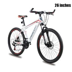 20 24 26 inches Bicycles Carbon Steel 18/21 speed Absorb-shock Fork Absorption Folding Mountain Bike Duplex