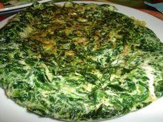 Tortilla de acelga, fácil, sabrosa y sana Chilean Recipes, Chilean Food, Sin Gluten, Lettuce, Quiche, Cabbage, Healthy Living, Vegetables, Breakfast