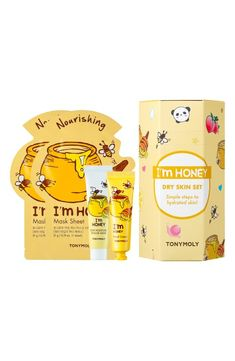 Style Board Nordstrom Gifts, Sheet Mask, Hand Cream, Glowing Skin, Dry Skin, Moisturizer, Honey, How To Apply, Water Type