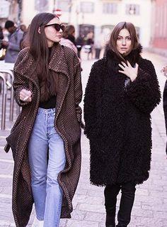 Gilda Ambrosio and Giorgia Tordini
