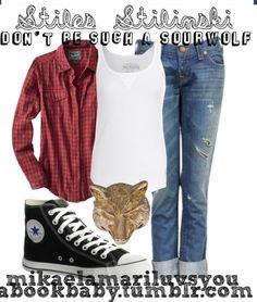 Stiles Stilinski Inspired Outfit