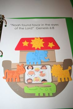 Our Country Road: Noah's Ark Bible Activity Page