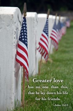 Memorial Day~remember the sacrifices