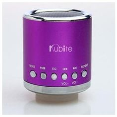 3.5mm Mini Portable Music Player Speaker USB Micro SD TF Card Purple #UltrabookStyle