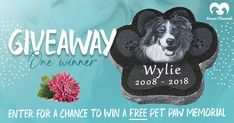 Free Granite Pet Memorial Giveaway (February 2021)