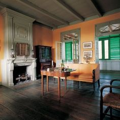 Pitot House is a quintessential Creole house and a Louisiana Landmark, open to the public. Photo: Gross and Daley
