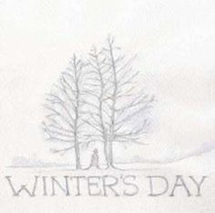 winters day (aaron martin & dawn smithson) - self titled (7inch vinyl)