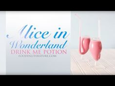 Drink Me Potion {Party Version} | Alice in Wonderland | Food in Literature