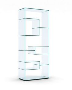The home of interesting bookshelves, bookcases and things that look like them since 2007 Acrylic Furniture, Glass Furniture, Furniture Design, Glass Showcase, Showcase Design, Glass Shelves, Display Shelves, Pharmacy Design, Glass Design