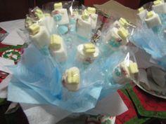 Decorated marshmallows  Masmelos decorados