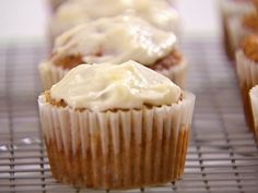 Carrot Cupcakes with Cream Cheese Frosting: You can have your cupcake and eat it, too, made with whole-wheat flour, applesauce and low-fat cream cheese.