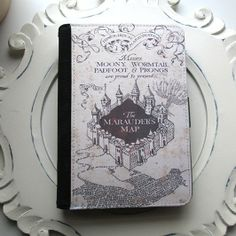 harry potter notebook cover - Marauder's Map