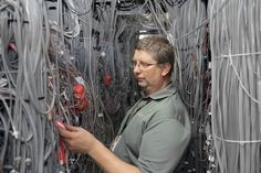 What Does the Internet Actually Look Like? Rooms and rooms of cables, switches, and freezing cold air
