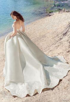 papilio 2017 bridal strapless sweetheart neckline light embellished bodice princess ball gown wedding dress royal train (drongo) bv -- Papilio 2017 Wedding Dresses