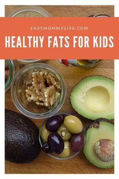 How To Add Healthy Fats To Your Child's Diet Find out how to add healthy fats in every meal for your child. Simple and easy strategies that you can implement in your home. Healthy Toddler Meals, Toddler Snacks, Healthy Snacks For Kids, Kids Meals, Healthy Drinks, Cheap Clean Eating, Clean Eating Snacks, Healthy Eating, Healthy Food