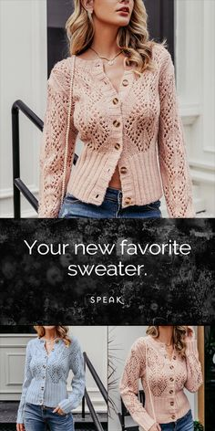 Our best-selling Paisley cardigan is back!- Our best-selling Paisley cardigan is back! Our best-selling Paisley cardigan is back! Lace Knitting, Knitting Patterns, Knit Crochet, Knitting Ideas, Paisley, Crochet Clothes, Knit Cardigan, Dame, Knitwear