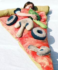 Funny pictures about Slice of Pizza Sleeping Bag. Oh, and cool pics about Slice of Pizza Sleeping Bag. Also, Slice of Pizza Sleeping Bag photos. Take My Money, Geek Gadgets, Kids Crafts, Things I Want, Awesome Things To Buy, Crazy Things, Strange Things, Amazing Things, Stuff To Buy