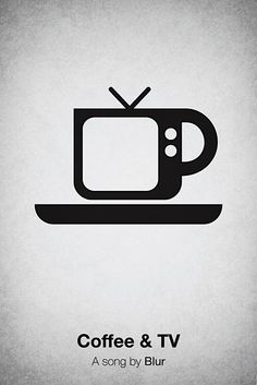 Coffee & TV (song by Blur) Illustration by Viktor Hertz