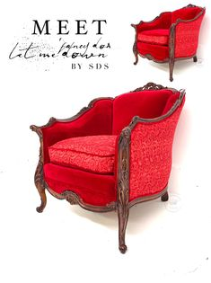 SDS has released the of her Happy Chair collection with reversible velvet to lace cushion! Simple Pictures, White Rooms, Painting Cabinets, Colorado Springs, Painted Furniture, Love Seat, Shabby, Cushions, Velvet
