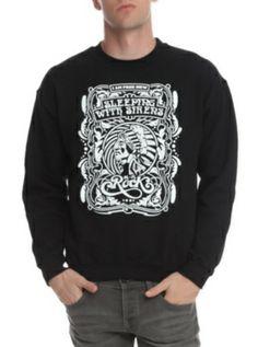 Sleeping With Sirens I Am Free Crewneck Sweatshirt