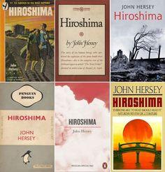 Portas de las diferentes ediciones en libro de Hiroshima
