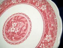 """Syracuse China Restaurant Ware Dinner Plate, Strawberry Hill, 10"""""""