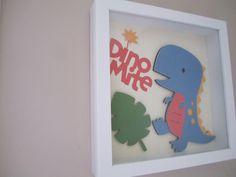 Dino Mite Dinosaur Nursery Art by twentythirty on Etsy, $15.00  cute - Daniela