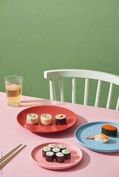 Rustic Food Photography, Food Photography Styling, Food Styling, Photography Ideas, Photo Restaurant, Restaurant Food, Decor Terrarium, Maki Roll, Sushi Platter