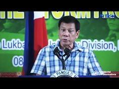 President Duterte Warns Communist Party and Warns Rich People Who are no...