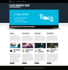 Eliaten Theme is a high quality business wordpress theme that suitable for company, freelance, porfolio and service websites with a custom post type for your portfolio,